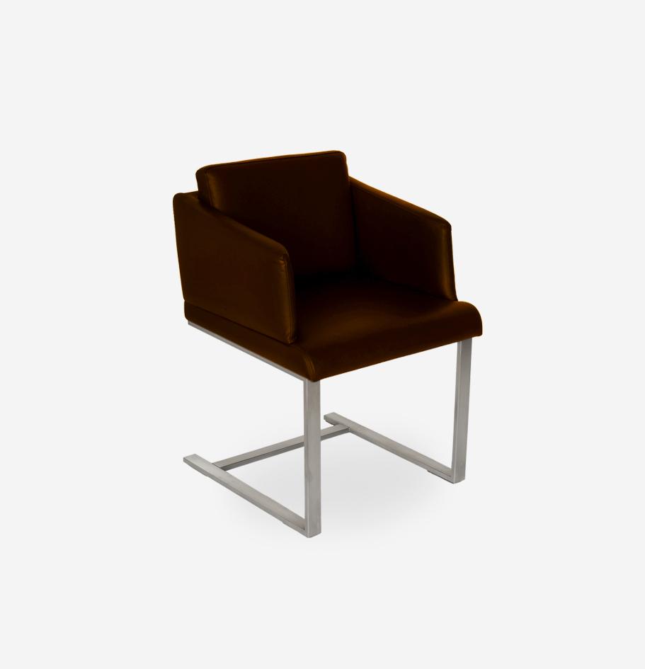 GRIMM Edelstahl/Leder stainlesssteel/leather